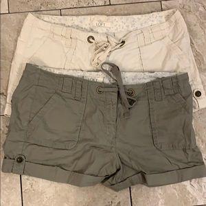 Ann Taylor shorts sz 12